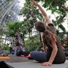Yoga 'all about relaxing' and for all ages