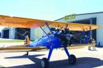 Up, up and away the biplane way