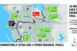 Trail will connect five King County cities