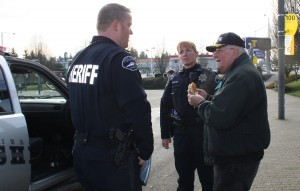"Smitty, wearing an EmSeeQ device is ""found"" by Pierce County Sheriff's Department personnel."