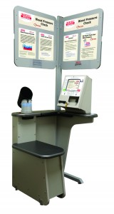 Self-serve kiosks in stores allow Bartell Drugs customers to check their blood pressure. (Courtesy photo)