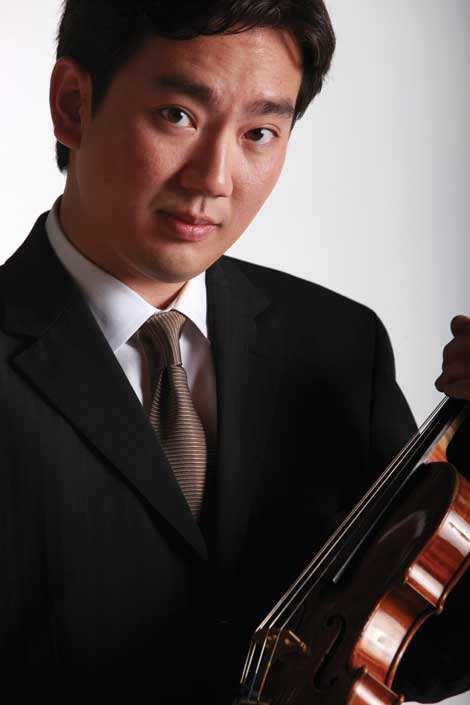 Frank Huang will perform during the String Festival at University of Puget Sound. (Courtesy photo)