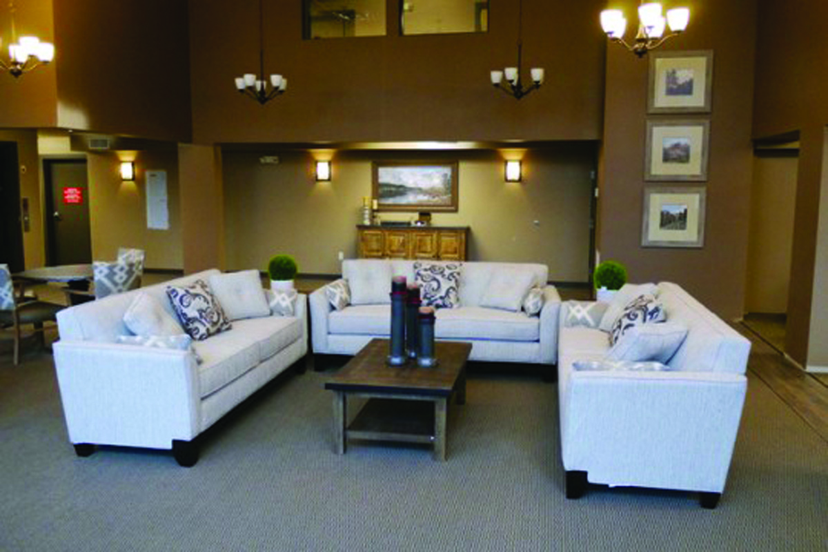 Social areas are among the features of the new Alder Ridge community in Milton.