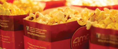 Popcorn is a staple of the moviegoing and snacking experience at Lakewood AMC Theater.