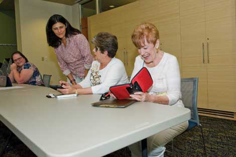 E-readers are one of the technology forms covered in free classes at branches of Pierce County Library.