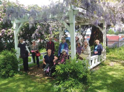 The Hylda Krugar Lilac Gardens in Woodland were part of a recent jaunt that included lunch and beautiful weather