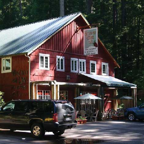 Copper Creek Inn and Restaurant in Ashford has been a landmark on the road to Mount Rainier National Park for almost 100 years.