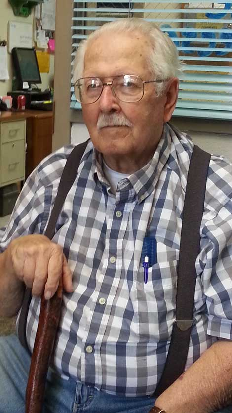 Darrell Dugan teaches woodcarving classes at Eatonville Community Center.