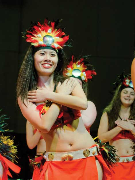 Traditional dances from Pacific cultures will be featured during the 2015 Spring Lu'au.