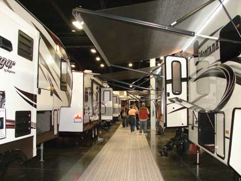 The Grand Puyallup RV Show will include the latest models.
