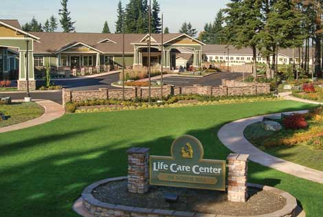 Life Care Center of South Hill offers skilled nursing and rehabilitation. (Courtesy photo)