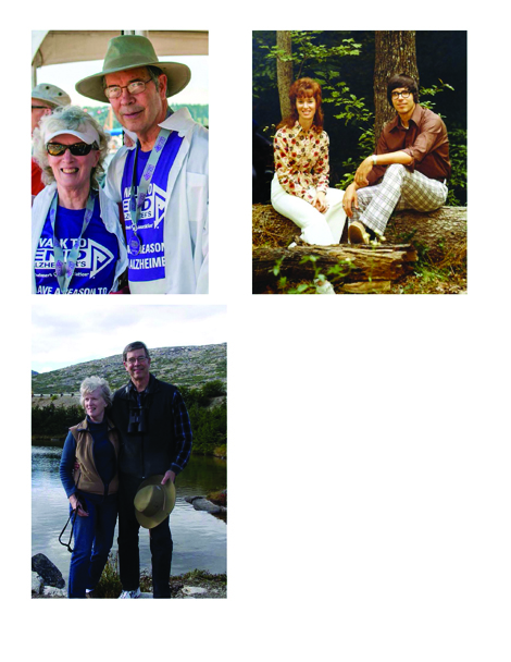 Larry and Madeline Fraley are seen through their 52 years together.