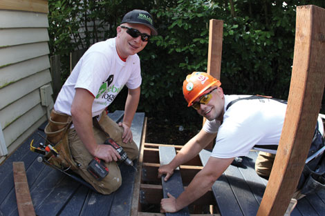 Volunteers do home repairs and improvements in Pierce and King counties through Rebuilding Together Puget Sound.