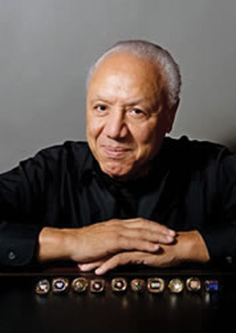 Pro basketball legend Lenny Wilkens was a featured speaker at the Wesley Homes community in Des Moines.