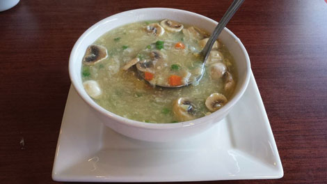 Pacific Jade's egg drop soup is a welcome warmup. (Courtesy photo)