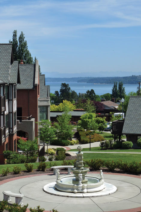 With Puget Sound in the background, the Franke Tobey Jones senior living campus in Tacoma has an expansion in the works.