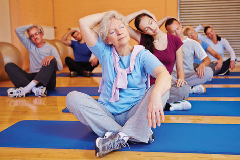 Pilates is a form of strength and resistance exercise that has a low impact on seniors' bodies.