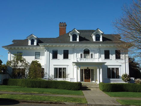 This home in Tacoma's Stadium District, built in 1903 and remodeled in 1913 by William and Anna Virges, is part of the Historic Homes of Tacoma tour scheduled for April 30 and May 1.