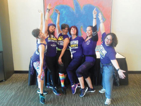 Dance With Us, a team led by a Zumba instructor, will stage a Zumbathon June 25 in Seattle in support of The Longest Day fund-raiser for the Alzheimer's Association.